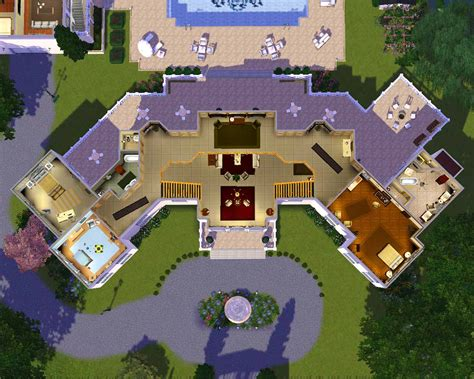 small mansion floor plans mansion floor plans sims building plans 59313