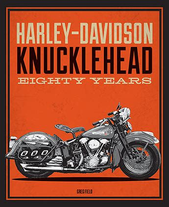 Book Harley Davidson by Harley Davidson Knucklehead Eighty Years Book Ebay
