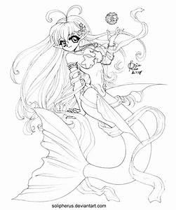 Hypergeneric Anime Mermaid by solipherus on DeviantArt