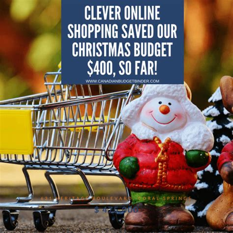 Clever Online Shopping Saved Our Christmas Budget $400 So