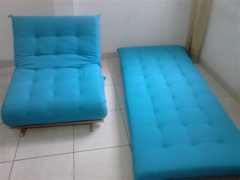 sofa cama futon  elo almofadas futon