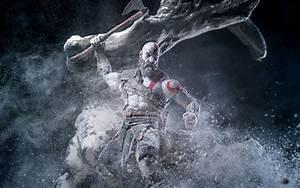 Kratos God Of War Wallpaper 4K HD Free Download For Computer