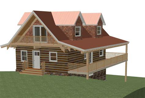 log cottage plans log home floor plan 24 x36 864 square plus loft