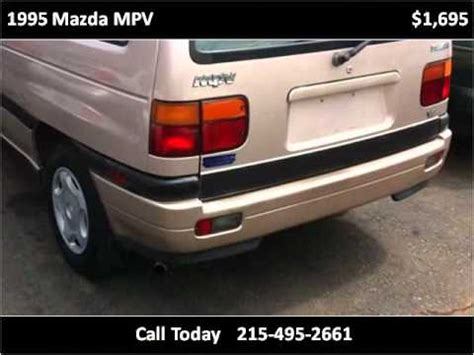 how to fix cars 1995 mazda mpv instrument cluster 1995 mazda mpv problems online manuals and repair information