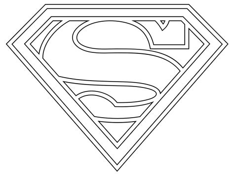 printable superman coloring pages  kids