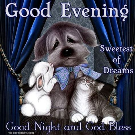 good evening sweet dreams goodnight pictures