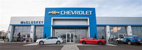 Chevy Dealership - Cincinnati, OH | McCluskey Chevrolet