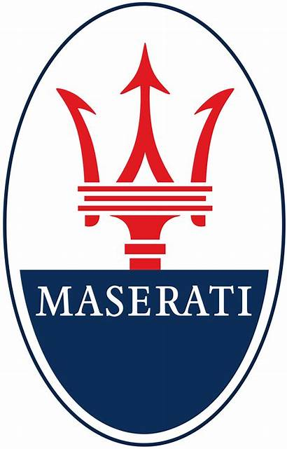Maserati Logos Emblem Transparent Clickable Sizes Them