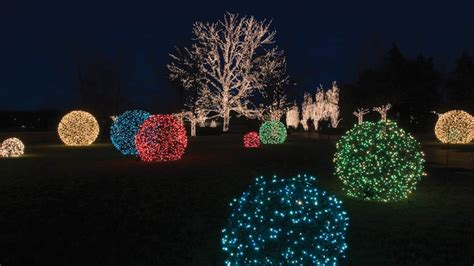 holiday outdoor l post how to make lighted christmas balls
