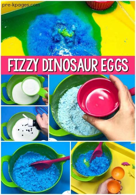 dinosaur eggs fizzy science experiment preschool 167 | 820e8a2b266d8283964056e20d2bff8a