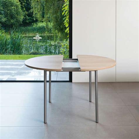 table de cuisine en bois avec rallonge table de cuisine ronde en stratifié basic avec rallonge