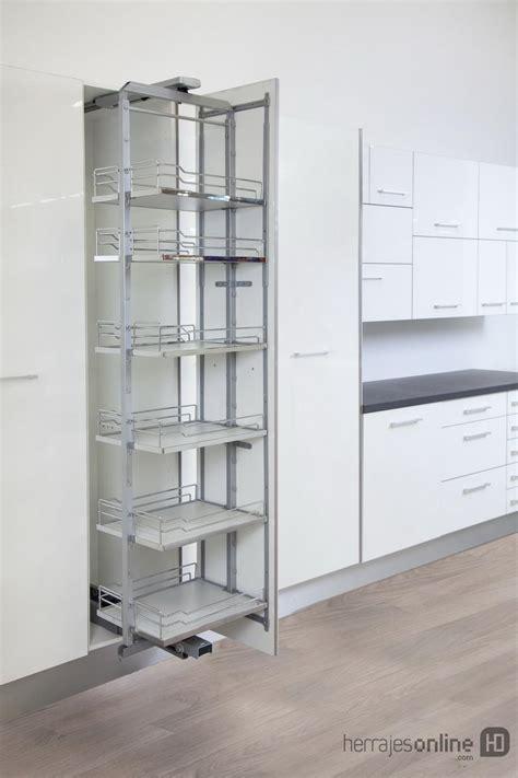 accesorios extraibles  muebles de cocina