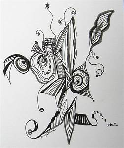 Black and White Original Pen and Ink drawing by ...