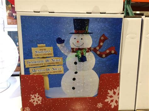 costco led snowman christmas decore