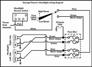 Headlight Diagram For Dennis Daley