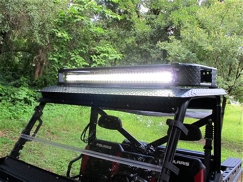 polaris ranger roof rack   mid wo led