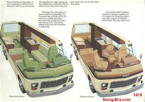 Gmc Motorhome Royale Floor Plans by Gmc Motorhome Interior