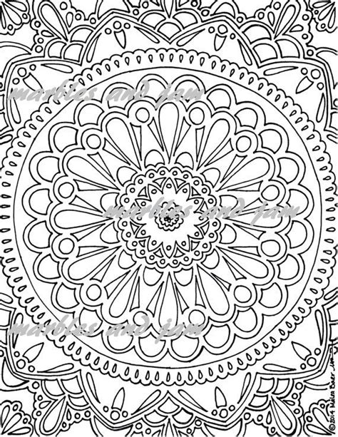 Kleurplaat Mandala Mexico by Mandala Printable Coloring Sheet Mandalas