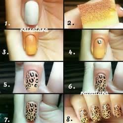 Nails designs easy step by stepcheetah nail