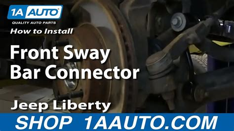 install replace front sway bar connector link