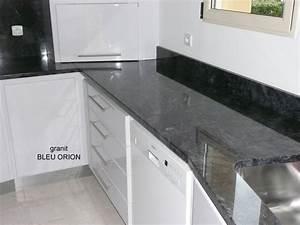 Plan De Travail En Ardoise : plan de cuisine optez pour le granit avec la marbrerie vaux ~ Dailycaller-alerts.com Idées de Décoration
