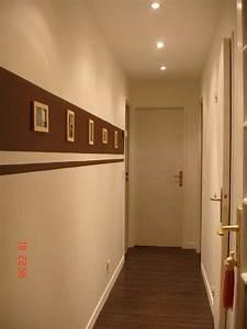 beautiful couleur peinture couloir entree gallery With peindre couloir deux couleurs 6 peinture couloir et decoration de lentree 57 idees en