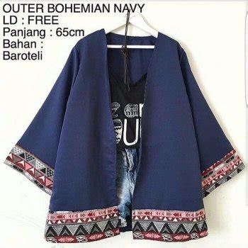 Promo Outer Bohemian Berkualitas jual bohemian vest outer rompi baju atasan wanita baju