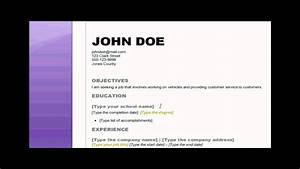 how to write a good cv sample cover letter for job sample resume youtube