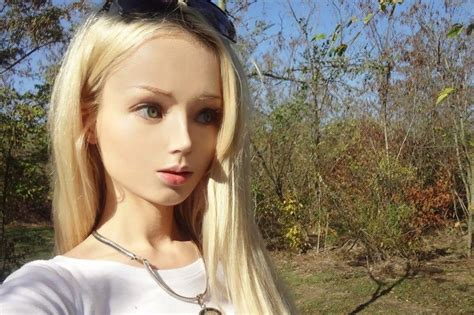 huge transformation   human barbie