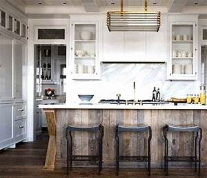 25 best ideas about reclaimed wood kitchen on pinterest With kitchen cabinets lowes with weathered wood wall art