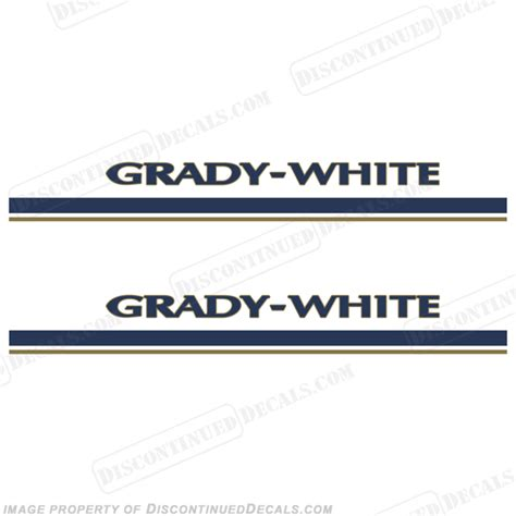 Where Are Grady White Boats Made by Grady White Boat Decals And Stripes