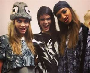 Kendall Jenner And Jourdan Dunn - The Ultimate BFF: Cara ...