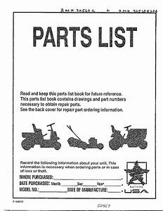 Murray Riding Mower Parts