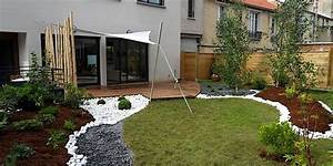 amenagement jardin suspendu malokoff ile de france With amenagement terrasse et jardin photo 1 paysagiste en ligne creation jardins et terrasses
