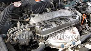 1998 Honda Civic Spark Plug Diagram  Honda  Auto Parts Catalog And Diagram
