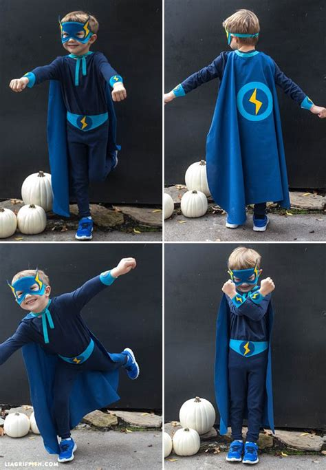 homemade halloween costumes  sew superhero costumes