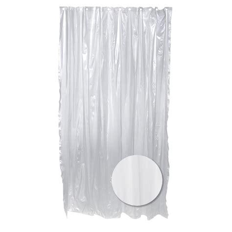 zenna home 70 in w x 72 in h vinyl shower curtain liner