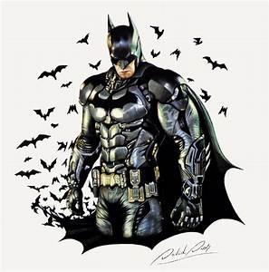 Batman Drawing by David Dias