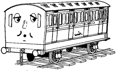 Thomas The Tank Engine Coloring Pages For Kids Gallery