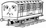 Thomas Coloring Pages Printable Train Friends Colouring Engine Tank Clip Bestappsforkids Library sketch template