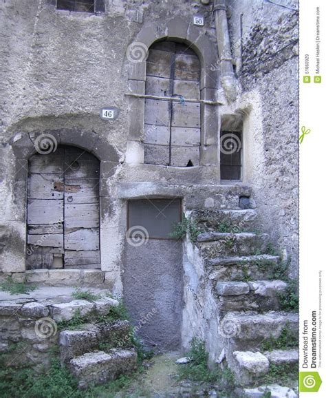 Stairs And Doors Royaltyfree Stock Image Cartoondealer