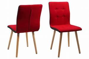 Ac Design Stuhl : ac design furniture stuhl charlotte b 43 x t 55 x h 88 cm stoff rot k che ~ Frokenaadalensverden.com Haus und Dekorationen
