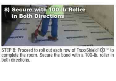 Concrete Moisture Barrier Peel&Stick by Traxx