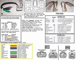 Amp Wiring Harness For Toyota