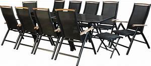 Gartenmöbel 8 Personen : ib style diplomat xxl alu gartengarnitur gartenm bel alu teak hochlehner tisch ebay ~ A.2002-acura-tl-radio.info Haus und Dekorationen