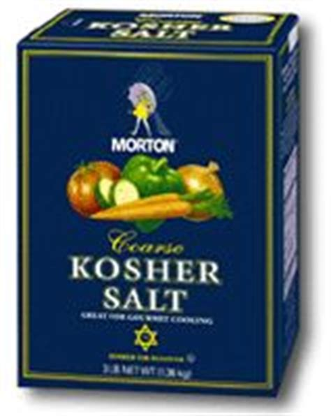 table salt to kosher salt conversion how to substitute kosher salt for sea salt in baking
