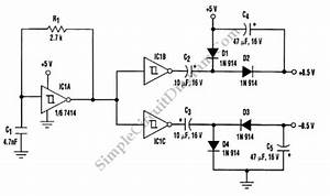transformerless dc to symmetric dc converter simple With direct coupled discrete astable multivibrator circuit diagram