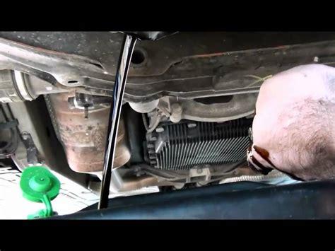 oil change  jaguar  type  part  youtube