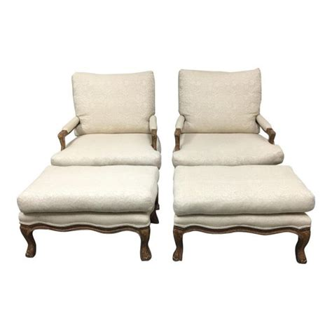 pair of oversized kreiss collection bergere style arm