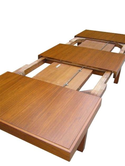expandable dining table  george nelson  herman miller